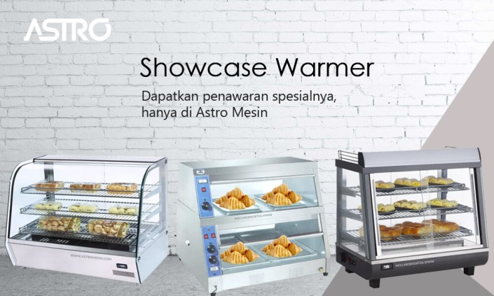 Mesin Showcase Warmer